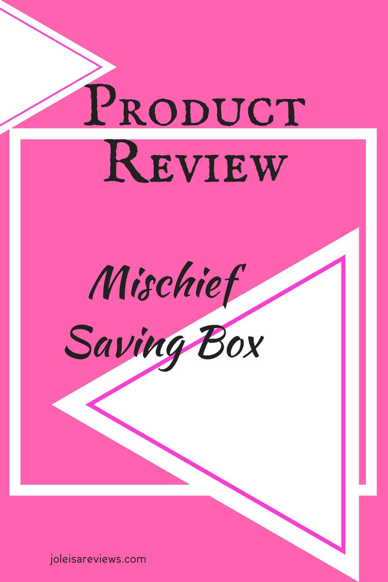 This is my honest review of the mischief saving box featuring a very short video with a nine year old using it.