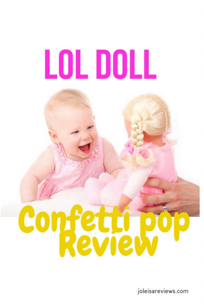 Recently we got this fun and exciting job to do. It was to review one of these toys that have been the rave recently, The lol doll confetti pop is amazing in more ways than one. So many surprises even with one. It will keep little girls busy and occupied for ages.