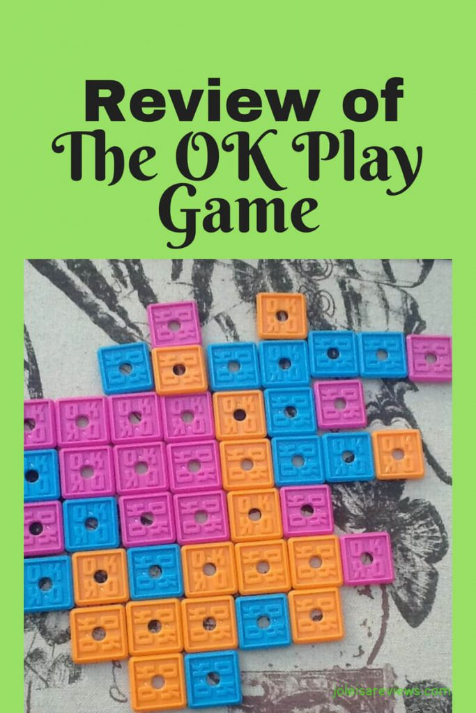 As a family, we recently got the OK play game and wanted to start playing it right away. The game is one that allows you to plot and plan and it keeps you having to focus on concentrate on your next move as well as the moves of the other players. Read to see how it is played and also what rating we gave it.