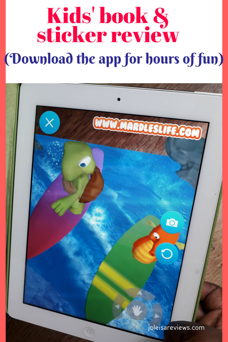 The undersea comes to life when you download the Mardles app to use while reading the book Stanley the Seahorse. Suddenly all the creatures appear in 4D! They can move and shimmer and the child can actually controm what happens! How cool is that!