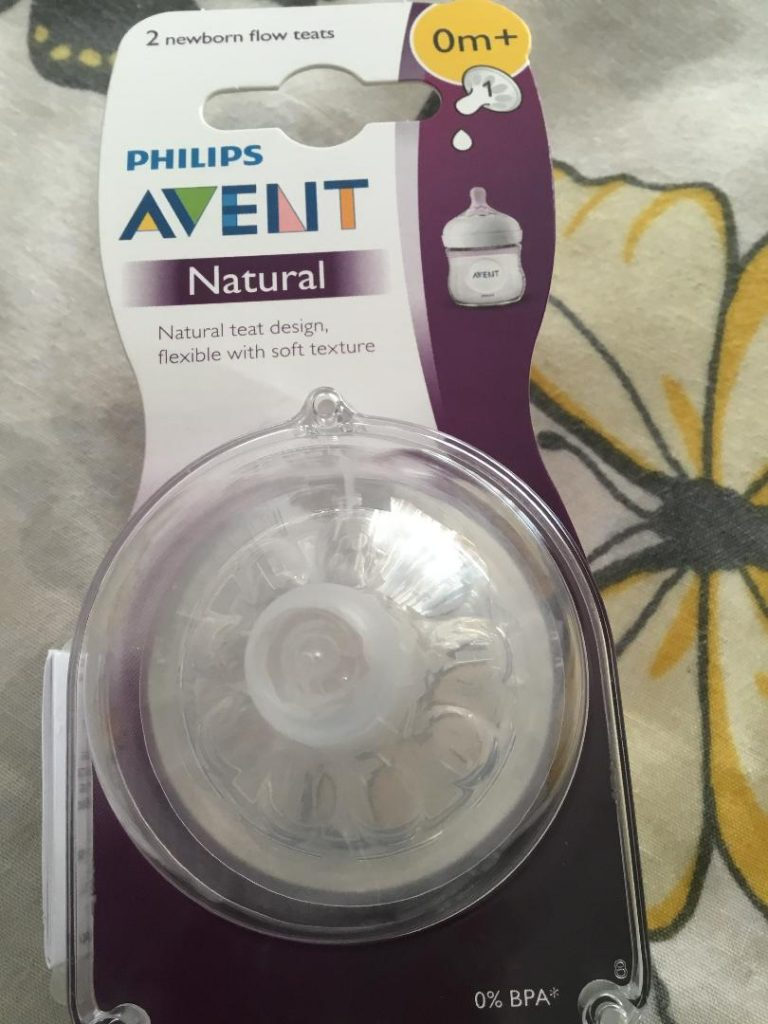 I've just got the Phillips Avent natural teats and want to really give them a go and check them out. I like the term 'natural'. The proof will be in the pudding.