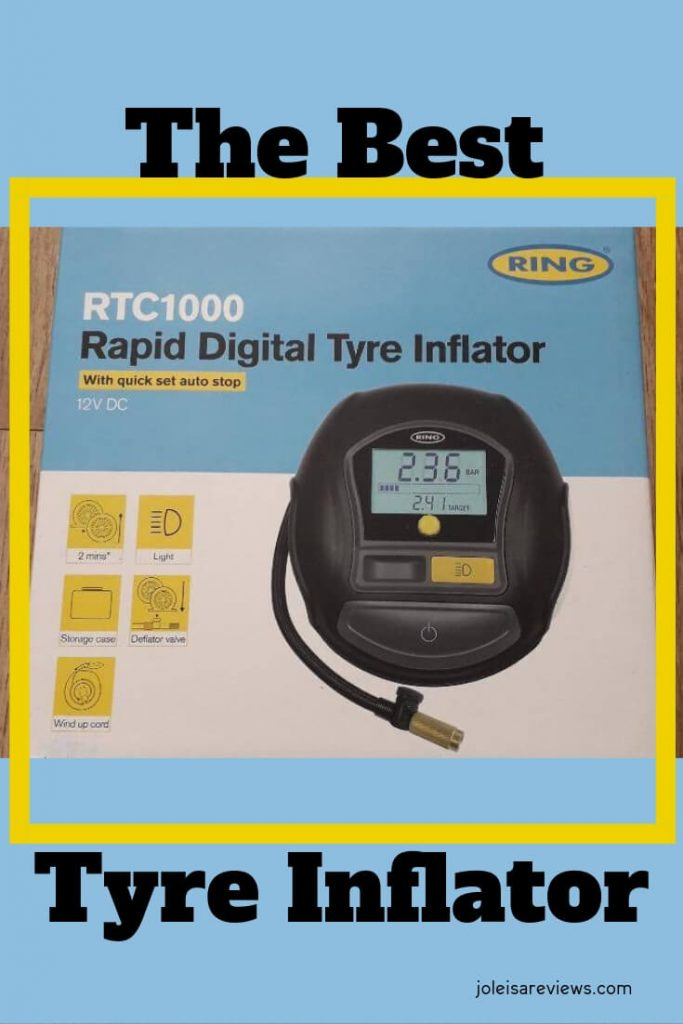 I have found the best tyre inflator that is so easy to use and also quick and efficient. I share at least 10 reasons why it is the best tyre inflator to use